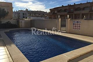 Moderno bajo con piscina en Miami Playa Tarragona