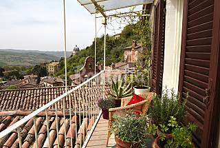 Charming medieval townhouse with breathtaking view Perugia