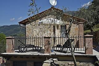 Villetta singola con giardino privato e piscina. Lucca