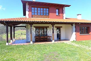 House for 8-10 people 3.5 km from the beach Asturias