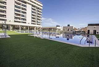 Bonito apartamento, terraza con vistas al mar. Valencia