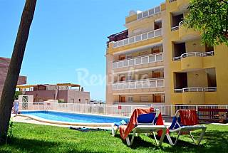 Frente a Cala Reona con piscina y jardín Murcia