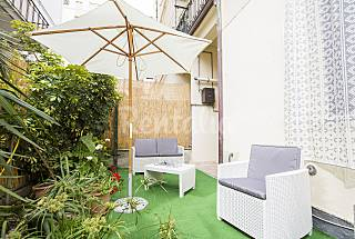 Apartment with 2 bedrooms only 250 meters from the beach Palermo