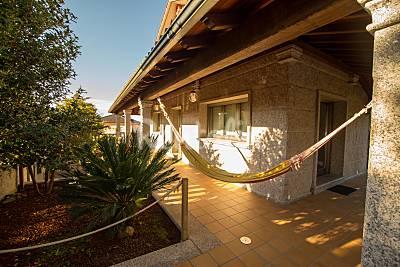 Casa 9 plazas con piscina cubierta - Casa Puntide Pontevedra
