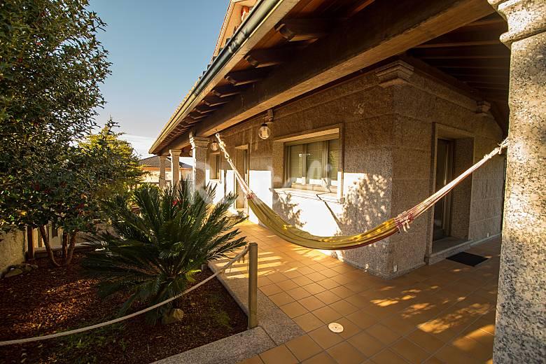 Casa 9 plazas con piscina cubierta casa puntide valga san miguel p valga pontevedra - Casa rural con piscina cubierta ...