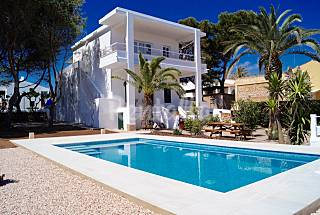 Villa in prime waterfront in sa caleta Minorca