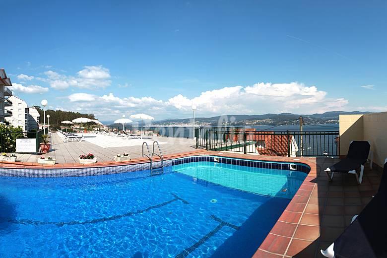 piscina y garaje a 300 m de la playa sanxenxo sanxenxo
