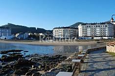 Apartamento para 4 personas en 1a línea de playa Lugo