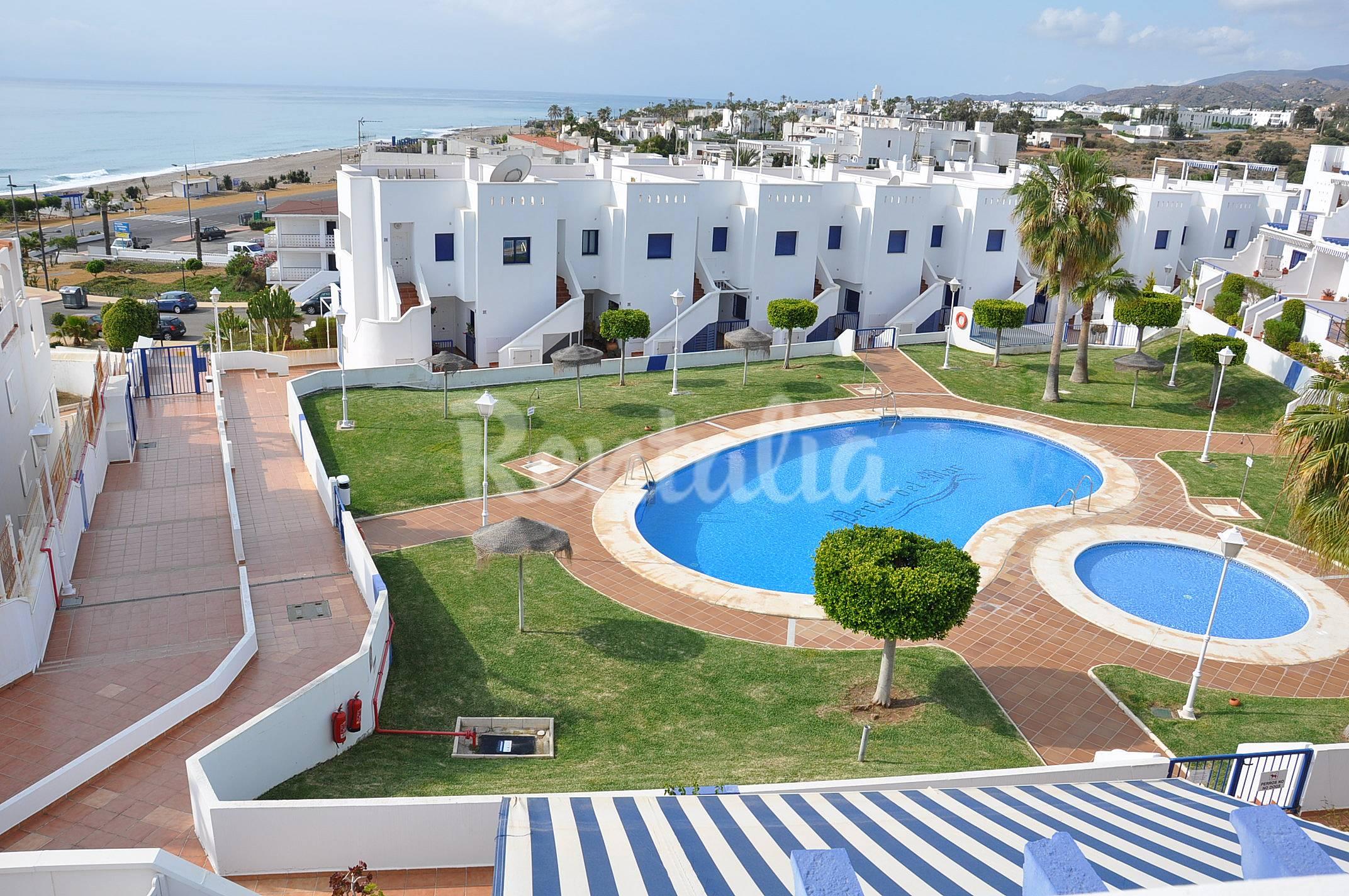 Apartamento en alquiler a 100 m de la playa moj car playa moj car almer a costa de almer a - Apartamentos alquiler mojacar ...