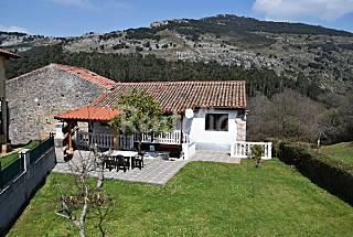 Casa en alquiler 12 pers. Area Santander. Cantabria