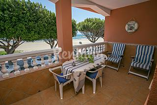 House for rent on the beach front line Málaga