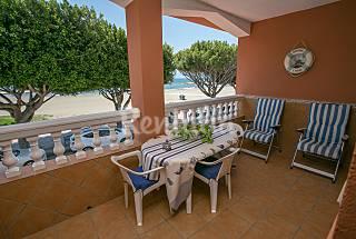 House for rent on the beach front line Málaga