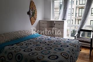 Apartamento para 4-6 personas en 1a línea de playa Pontevedra