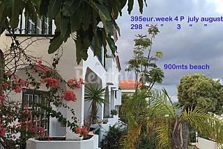 5 Apartamentos de 1-2 dormitorios a 900 m de la playa Tenerife