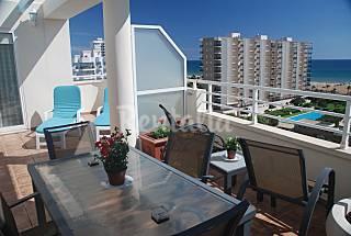 Penthouse, very bright and sea views + Wifi Valencia