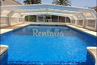 Villa for rent only 600 meters from the beach Alicante