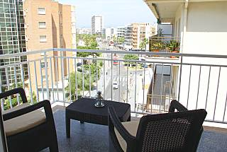 Nice apartment with a view to the sea Tarragona