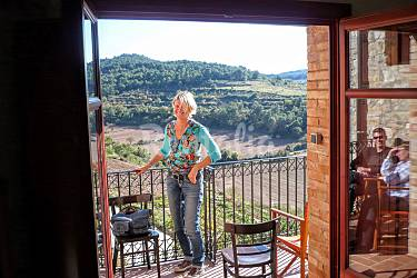 Villa Vistas desde la casa Lleida/Lérida Vallbona de les Monges Casa en entorno rural