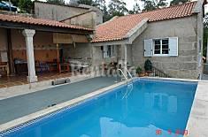 Casa para 6-8 personas a 2.5 km de la playa Pontevedra