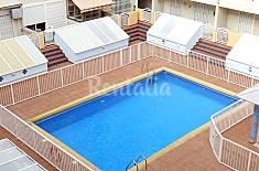 Se alquila apartamento de tres habitaciones en una casa con una piscina! Alicante