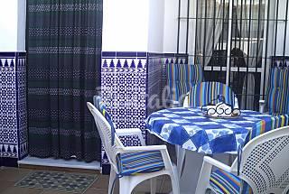 Casa para 4-5 personas a 1000 m de la playa Cádiz