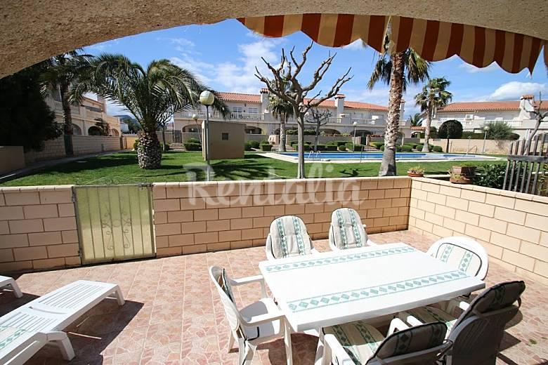 Apartamento en alquiler en miami playa parque de for Apartamentos jardin playa larga tarragona