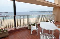 Espaioso atico con gran terraza a primera linea de playa Girona/Gerona