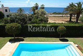 Villa para 9-11 personas a 100 m de la playa Menorca