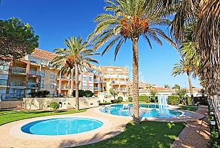 DENIA 1º LÍNEA DE LA PLAYA piscina, parking Alicante