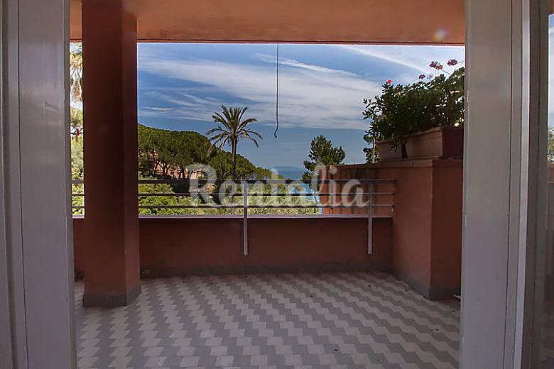 Casa in affitto toscana capo d 39 arco rio marina - Case in affitto con giardino livorno ...