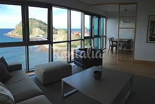 Apartamento en alquiler en 1a línea de playa Guipúzcoa