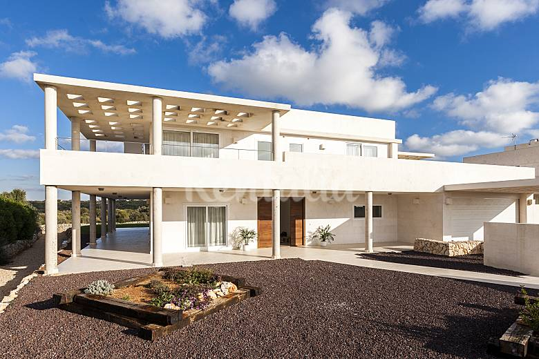 Villa de lujo menorca piscina privada 10 p binibeca - Casas de lujo en menorca ...