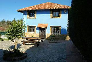 Apartments for 6-12 people 2 km from the beach Asturias
