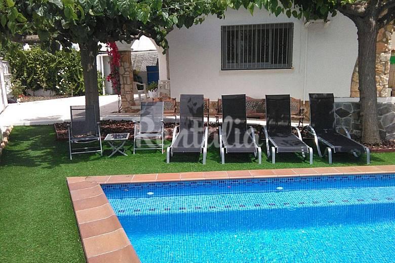 Casa con piscina privada en la costa dorada creixell tarragona costa dorada - Camping con piscina climatizada en tarragona ...
