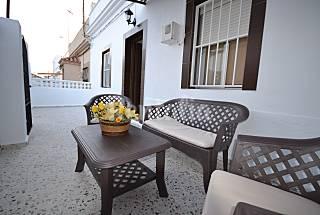 Casa 100m playa con terraza privada Cádiz