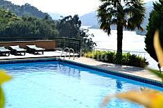Casa com vistas belíssimas, com piscina e tenis Viseu