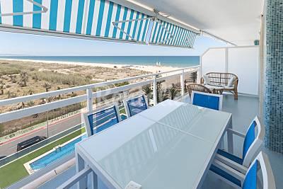 Apartamento de lujo en 1a línea de playa Valencia