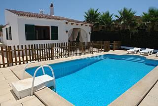 Villa en alquiler a 800m de la playa Villa Alegria Menorca