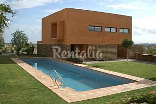 Casa 8 pers. piscina y jardín en campo de golf  Almería