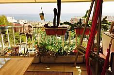 Apartamento para 7 personas en 1a línea de playa Málaga