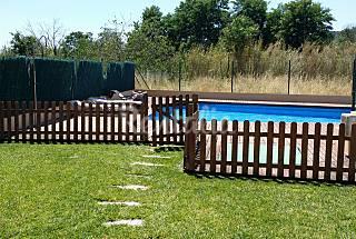 Appartement duplex avec piscine et jardin Gérone