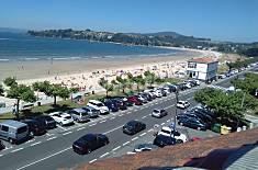 Apartamento para 5-6 personas en 1a línea de playa A Coruña/La Coruña