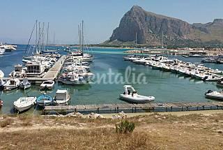 House on the sea Trapani
