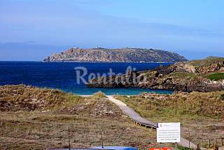 Apartment for 2-3 people on the beach front line A Coruña