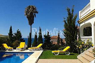 very nice villa, great sea views. beach at 150 m  Málaga