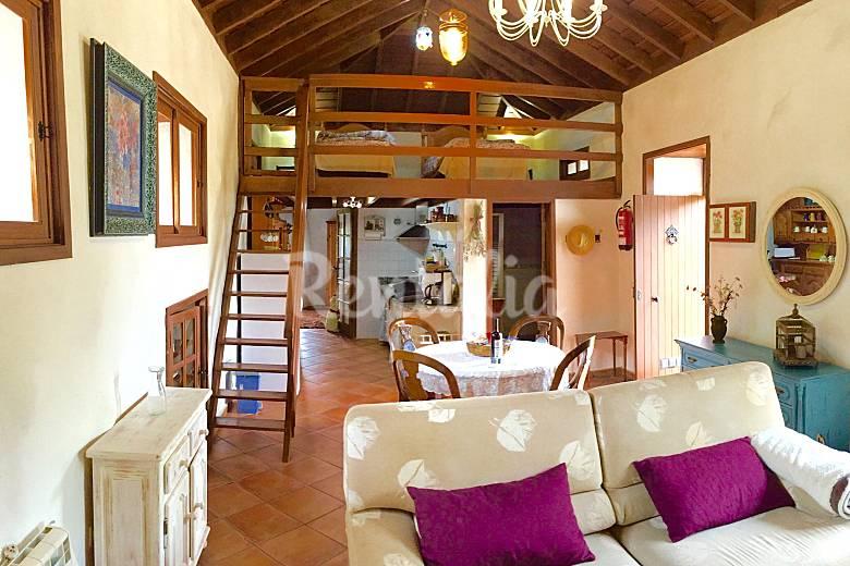 Ancien Salon Ténériffe Icod de los Vinos Gîte maison