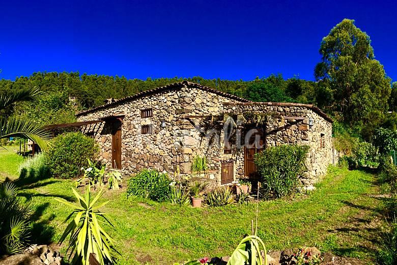 Ancien Extérieur de la maison Ténériffe Icod de los Vinos Gîte maison