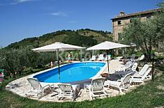 House for 6 people in Castel d'Arno Perugia