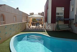 House for rent,private pool, 15 km from the beach Murcia