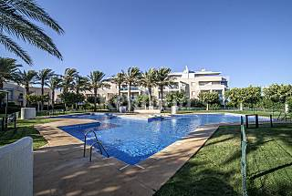 Apartment for 4-5 people with swimming pool Almería